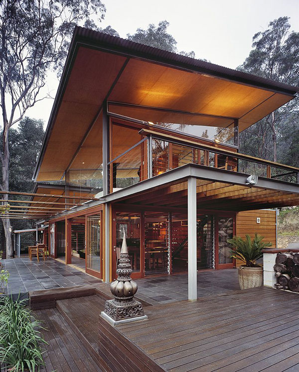 incredible wood residence27 Mountain Home with Increased Comfort in Australia