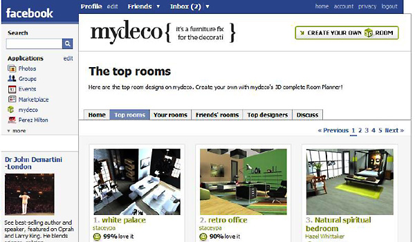 my deco facebook 10 Best Free Online Virtual Room Programs and Tools