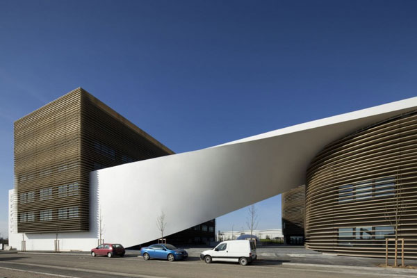 Twisted Modern Galilee Office Building In Toulouse Freshome Com