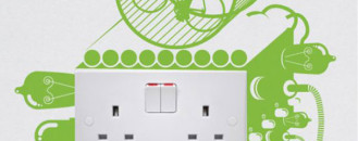 7 Playful Stickers for Creative Light Switches