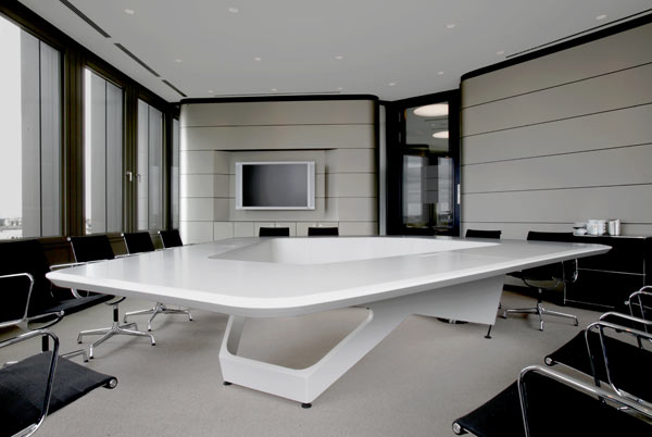 Inspiring Conference Table for Ernst & Young Boardroom by KINZO