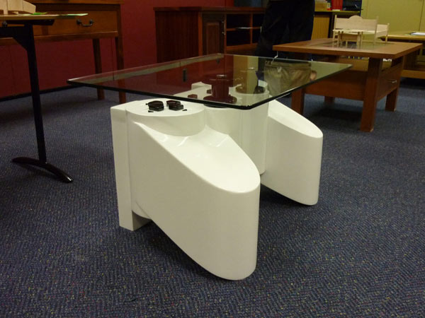 playstation table7 Coffee Table Inspired by a PlayStation Controller