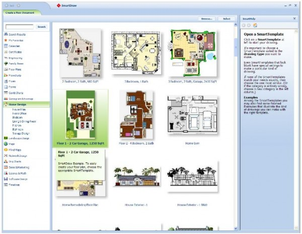 smart draw floor plans gallery1 e1281909110175 10 Best Free Online Virtual Room Programs and Tools