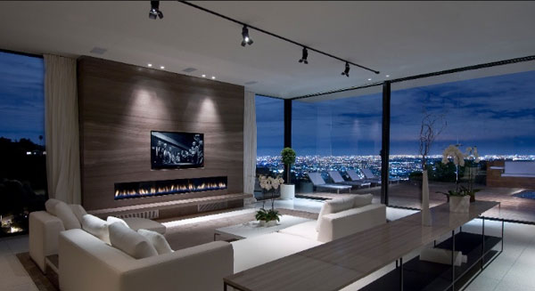 Spectacular beverly hills residence a showcase of modern for O kitchen city of dreams