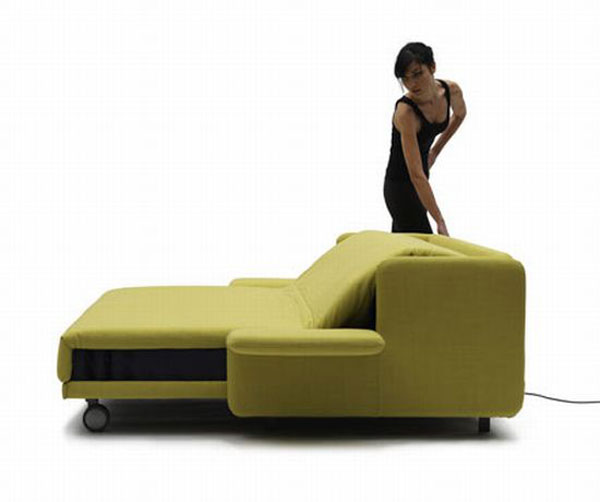 000000wow sofa 06 DXeld 24429 WOW Sofa Becomes a Practical Bed with Just the Push of a Button