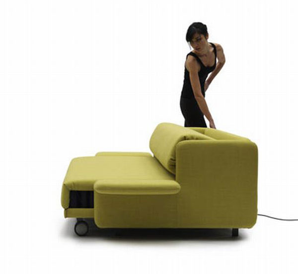 0000wow sofa 04 ndgEd 24429 WOW Sofa Becomes a Practical Bed with Just the Push of a Button