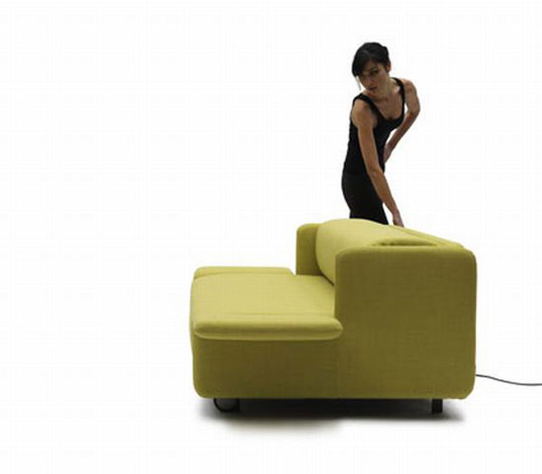 000wow sofa 03 7SReX 24429 WOW Sofa Becomes a Practical Bed with Just the Push of a Button