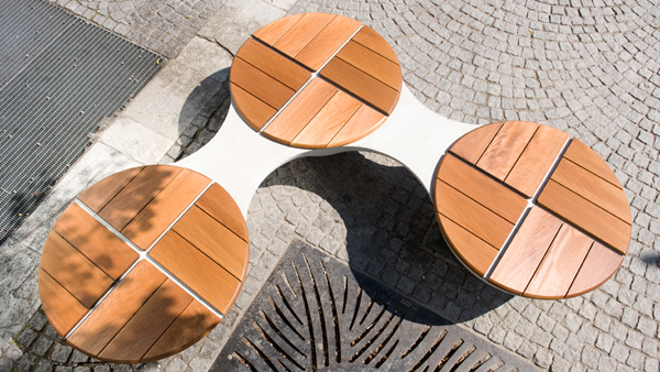 3 unionbench outdoor 15 Urban Furniture Designs You Wish Were on Your Street
