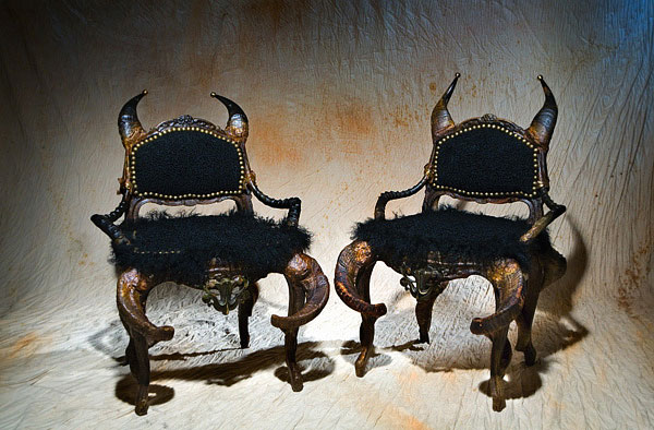 ARKANIA Infernal Furniture from Michel Haillard: Atrociously Appealing?
