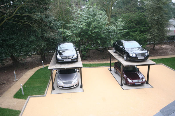 Cardock 6 Luxurious Hydraulic Underground Garage Parking