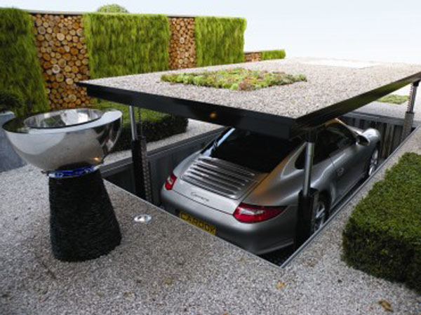 Cardock 9 Luxurious Hydraulic Underground Garage Parking