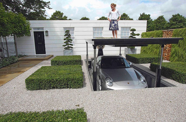 Cardock Luxurious Hydraulic Underground Garage Parking