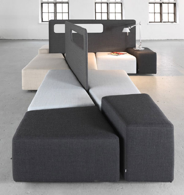 Stylish And Practical Contemporary Furniture For Every: ART DESIGN: Practical Diagonal Lobby Furniture For Indoor