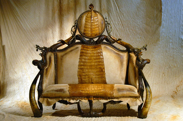 Damas Infernal Furniture from Michel Haillard: Atrociously Appealing?