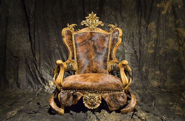 GULLYGULLY Infernal Furniture from Michel Haillard: Atrociously Appealing?