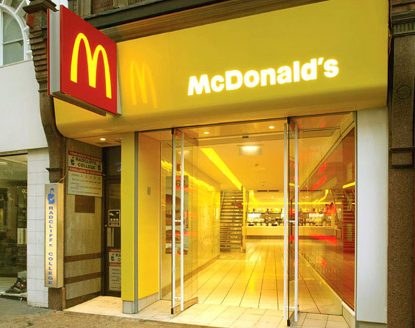 McDonalds Flagship UK McDonalds Redesign: a New Era for Fast Food Restaurants