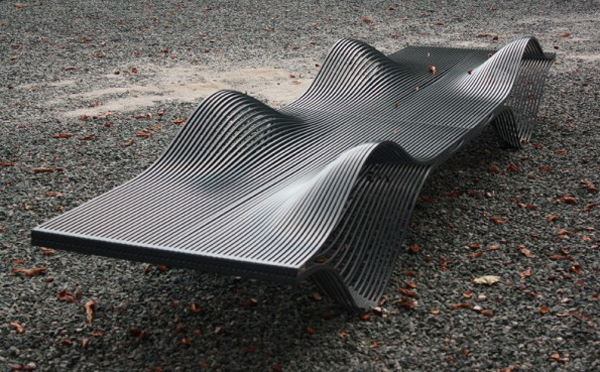 Muscle Bench Alex plusMOOD 4 595x369 15 Urban Furniture Designs You Wish Were on Your Street