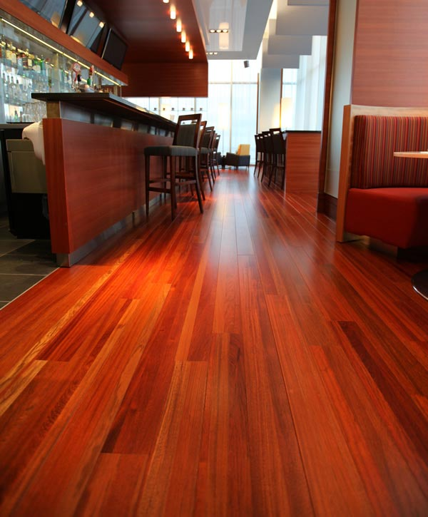 Recycled Wood Flooring New Recycled Wood Flooring Creates Alluring Atmosphere in Montreal Bar