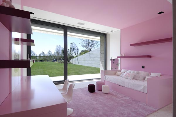 beautifu home architecture building acero archiects kids room Amazing House That Offers the Maximum Life Quality by A cero