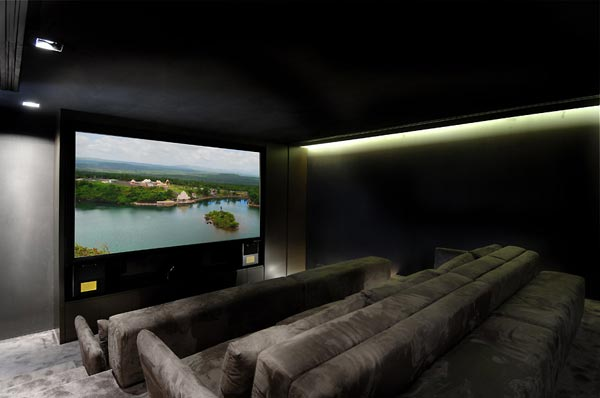 beautifu home architecture building acero new home cinema1 Amazing House That Offers the Maximum Life Quality by A cero
