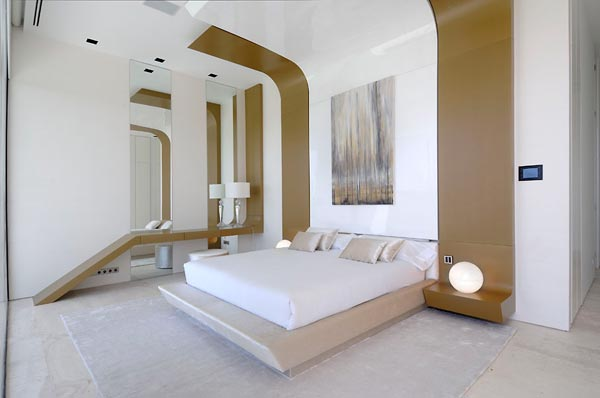 bedroom beautifu home architecture building acero archiects Amazing House That Offers the Maximum Life Quality by A cero
