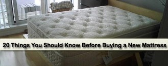 20 Things You Should Know Before Buying a New Mattress