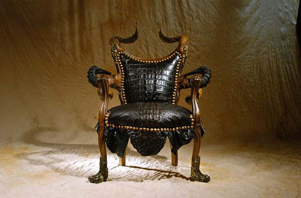 christopher Infernal Furniture from Michel Haillard: Atrociously Appealing?