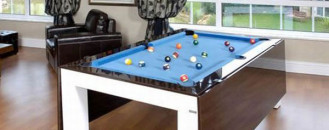 Amazing Dining and Billiard Table for Small Spaces