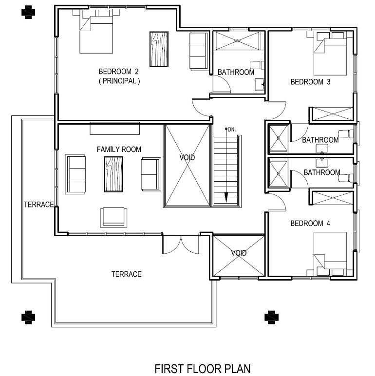Islamic House Plans Floor Plans
