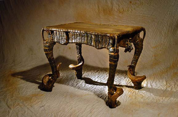 guirautou Infernal Furniture from Michel Haillard: Atrociously Appealing?