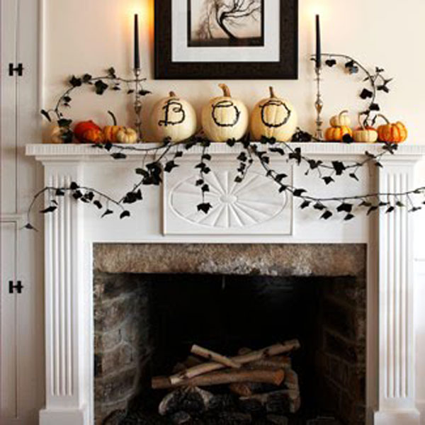 House designs luxury homes interior design for How to decorate your fireplace for halloween