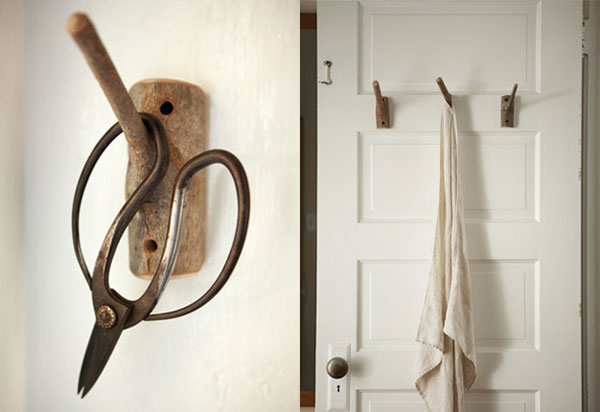 image H 5 Original Decorating Wooden Hooks For Rustic Interiors