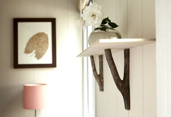 Original Decorating Wooden Hooks For A Rustic Interior