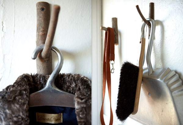 image H 8 Original Decorating Wooden Hooks For Rustic Interiors