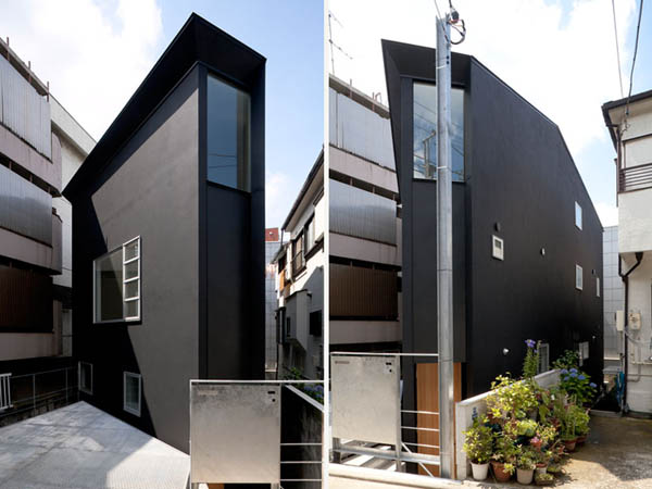 ohhouse02 Space Maximization in Japan: OH House by Atelier Tekuto