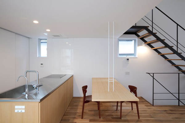 ohhouse03 Space Maximization in Japan: OH House by Atelier Tekuto