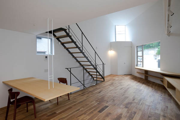 ohhouse05 Space Maximization in Japan: OH House by Atelier Tekuto