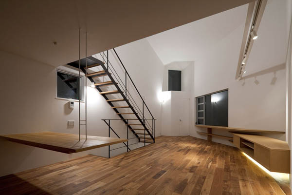 ohhouse06 Space Maximization in Japan: OH House by Atelier Tekuto