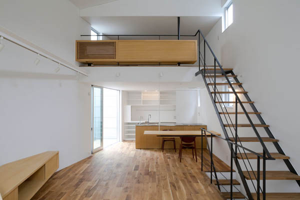 ohhouse08 Space Maximization in Japan: OH House by Atelier Tekuto