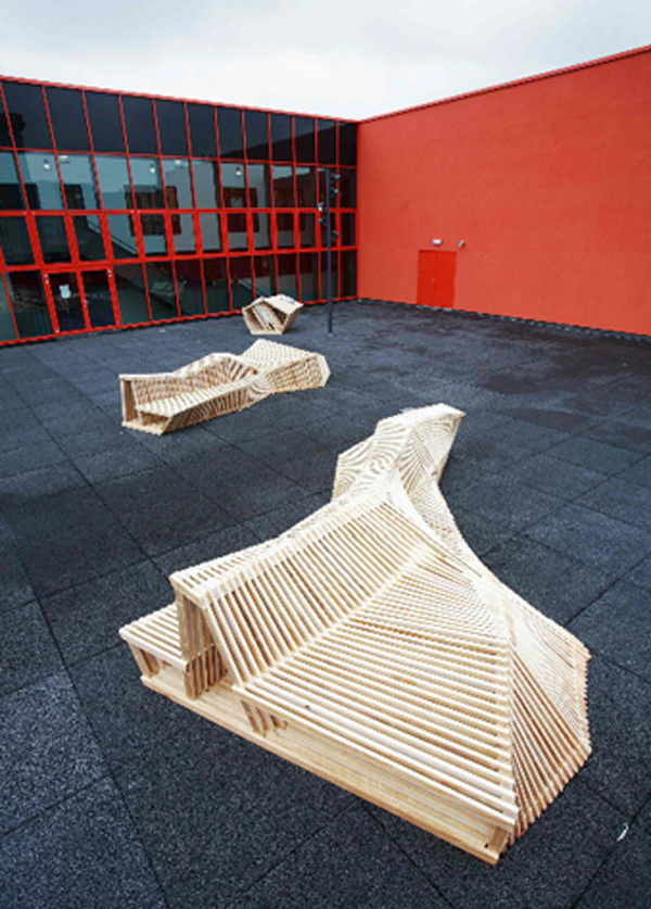 overview bench scape 15 Urban Furniture Designs You Wish Were on Your Street