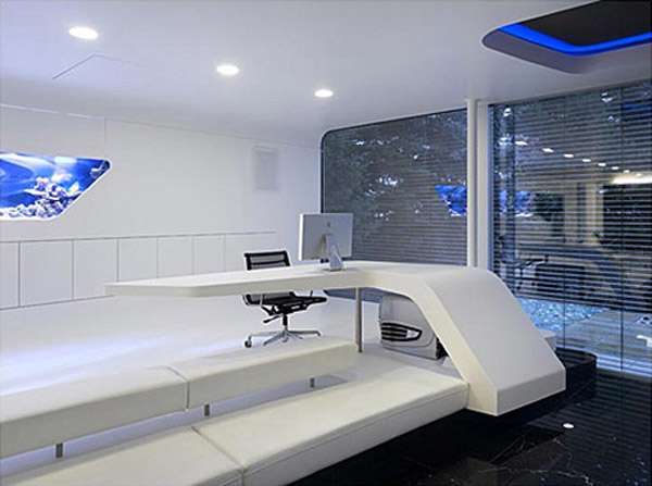 villa f for it entrepreneur 3 Futuristic Interior Design : An IT Entrepreneurs Home