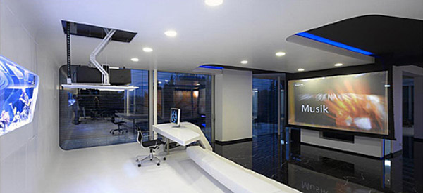 villa f for it entrepreneur 5 Futuristic Interior Design : An IT Entrepreneurs Home