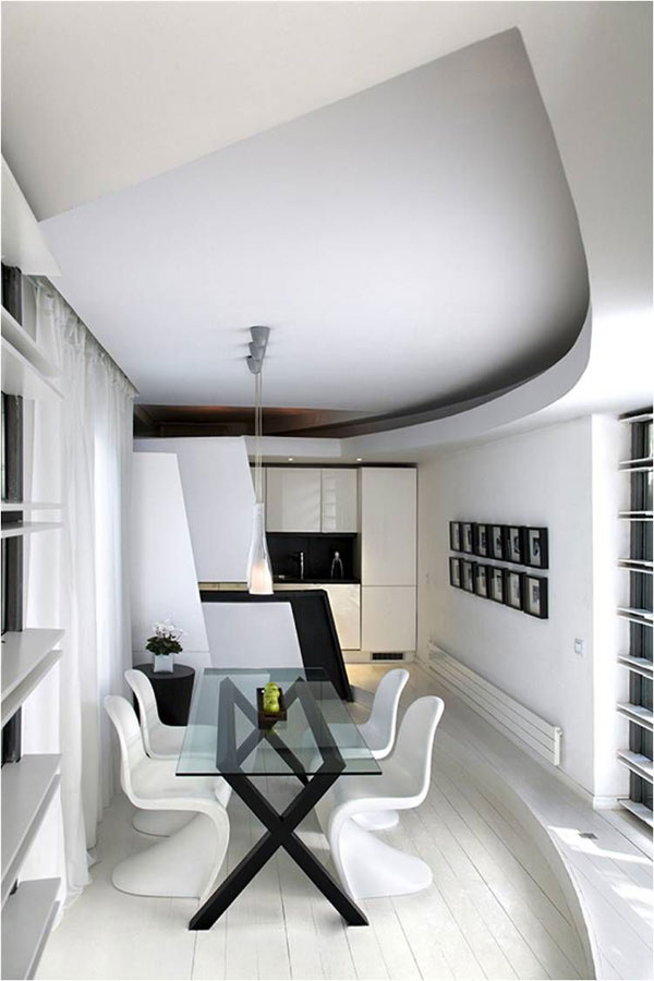 0futuristic apartment2332 Thinking Outside the Square: The Ruiz Maasburg Penthouse in Madrid