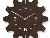 10in Dimitri Wall Clock 170x130 Cute Clocks Inspired by Wildlife   Wooden Safari Collection by Nir Meiri