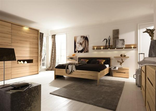 Cozy Contemporary Natural Bedroom Interior Design Dreamy Bedroom Furniture from Hulsta