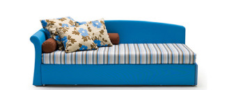 Cheerful and Practical Italian Sofa from Milan Bedding