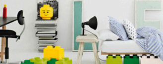 Giant LEGO Bricks : Unconventional but Fun Storage Solution