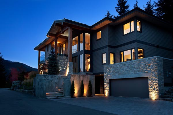 Luxury Property in Whistler 13 Luxurious Mountain View Villa in British Columbia