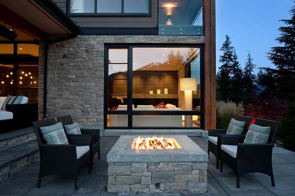Luxury Property in Whistler 14 Luxurious Mountain View Villa in British Columbia