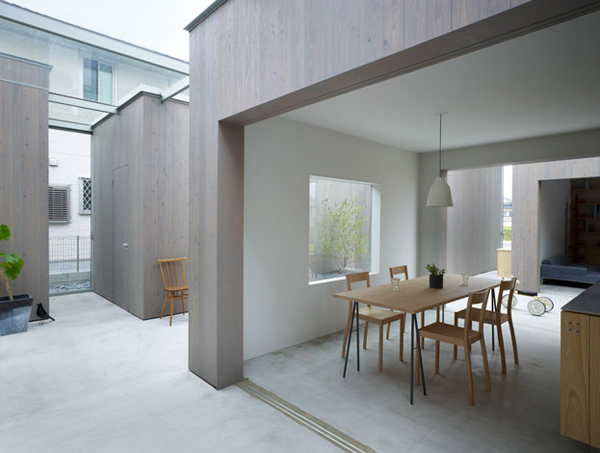 Modern Neo Siheyuan housein buzen 3 Modern Neo Siheyuan Inspired Home in Japan
